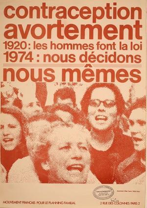 Affiche éditée en 1974 - MFPF