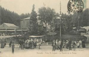 Carte postale la Plaine