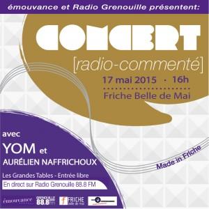 Concert-RadioCommenté-Mai2015