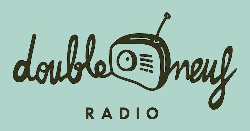 LOGO DOUBLE NEUF RADIO