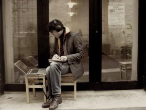 journaliste de rue