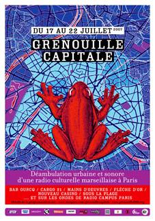 Affiche - Grenouille capitale