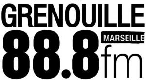 logo Radio Grenouille blanc