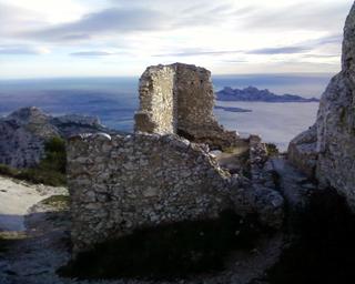 Vigie de Marseilleveyre et vue sur Riou